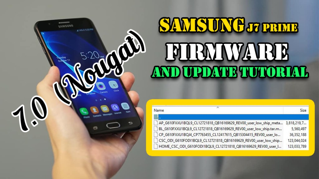 Samsung J7 Prime Firmware And Update Tutorial | Droid-Developers