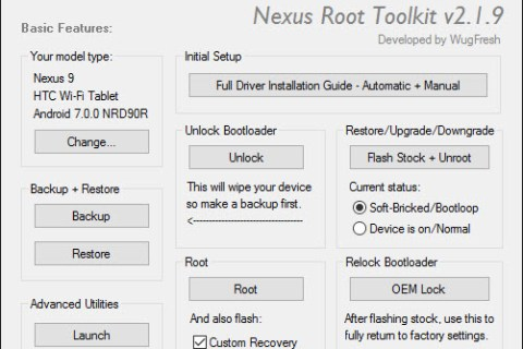 Download Nexus Root Toolkit v2.1.9