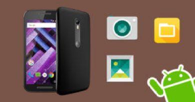 Moto G4 apps