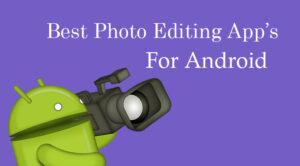 best free photo editing app