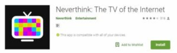 neverthink app