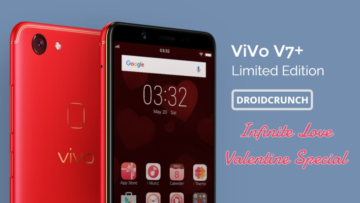 Vivo V7 Plus Valentine Day Limited Edition