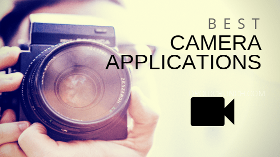 Best camera applications for android