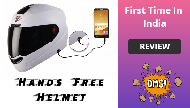 Steelbird SBA-1 handsfree helmet review