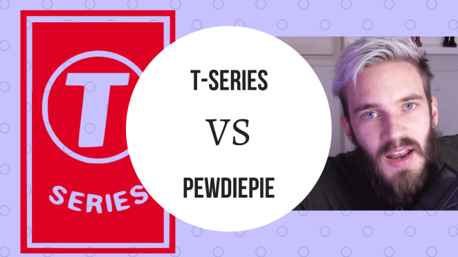 T-series vs Pewdiepie droidcrunch race is on