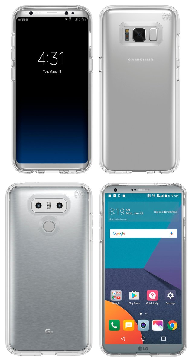 Evan Blass Leaks LG G6 and S8