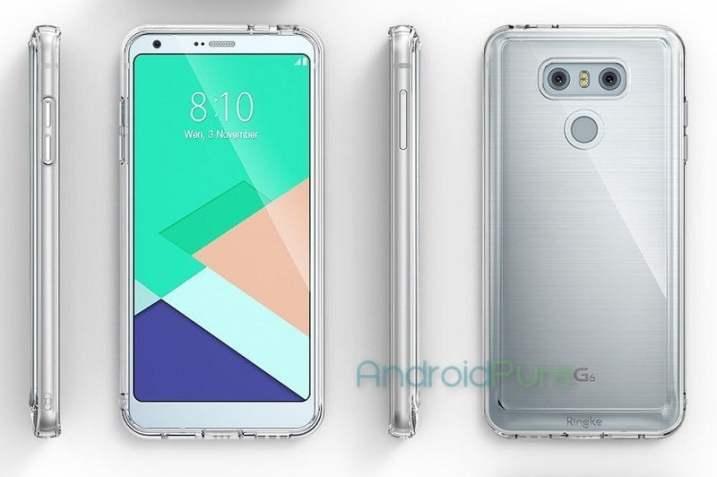 LG G6 Case Renders Leaked by Casemaker Ringke, Design Revealed 6