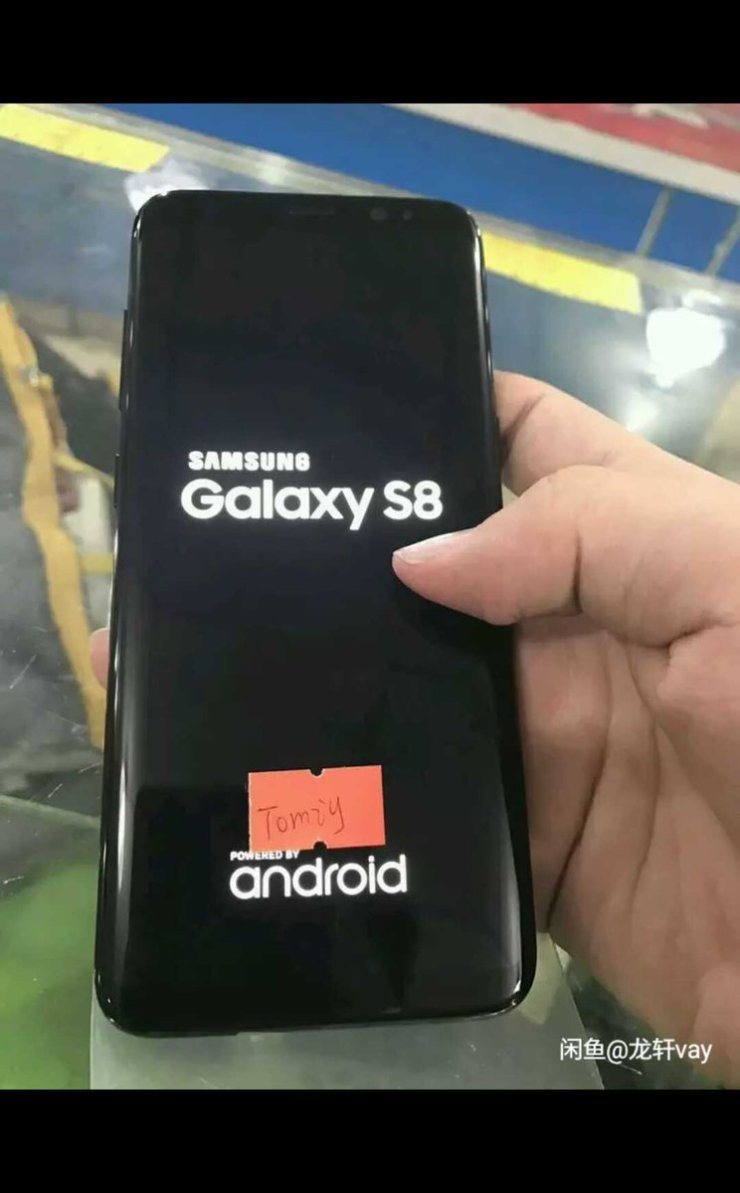 Hands-On Galaxy S8 Images