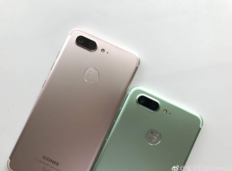 Gionee S10 Hands-On Pics