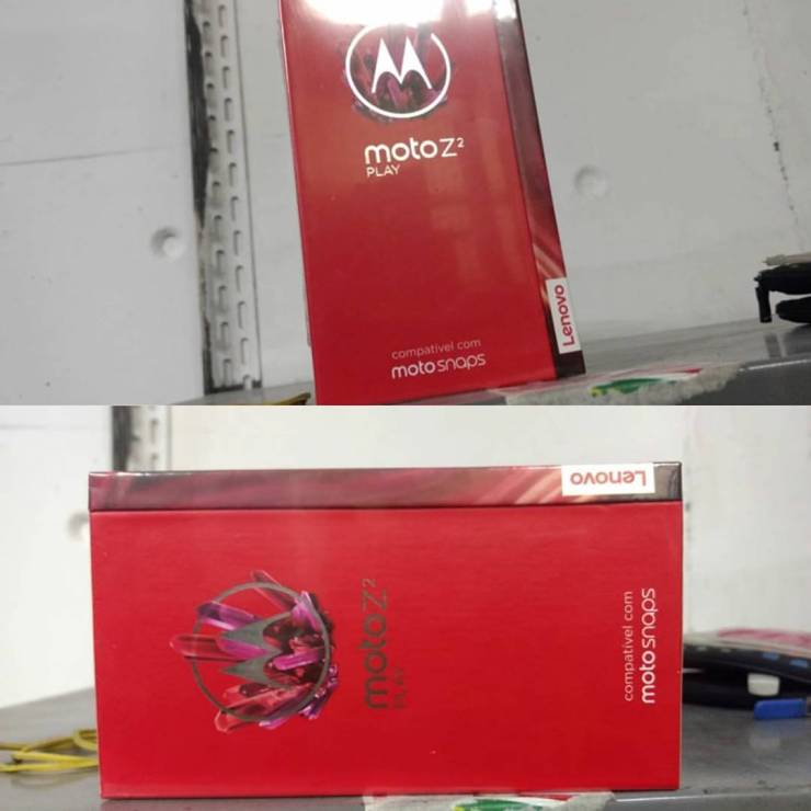 Moto Z2 Play Box