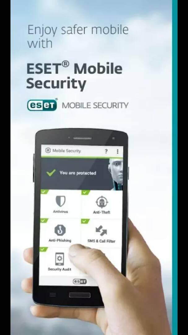 ESET MOBILE SECURITY AND ANTIVIRUS APP