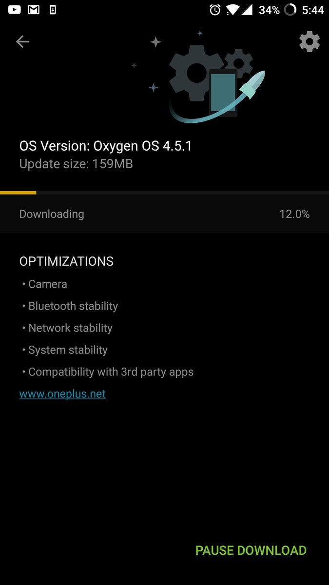 OnePlus 5 First Software Update