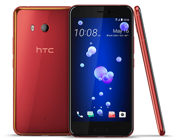 HTC U11 in new Solar Red Color