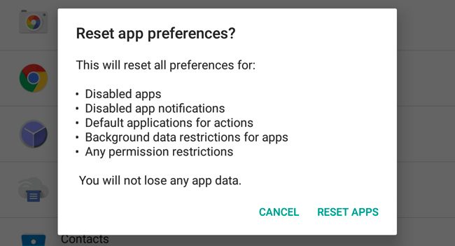 process com.google.process.gapps has stopped fix
