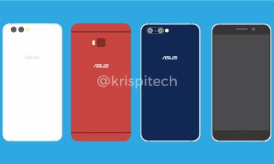 This is the Asus Zenfone 4 Trio + Zenfone 4 Pro Hands-On Shots 8