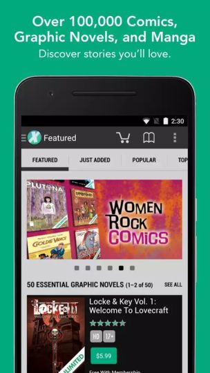 COMIXOLOGY COMICS app