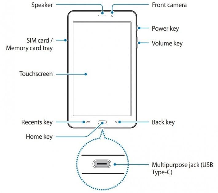 Galaxy Tab A 8.0 2017 1