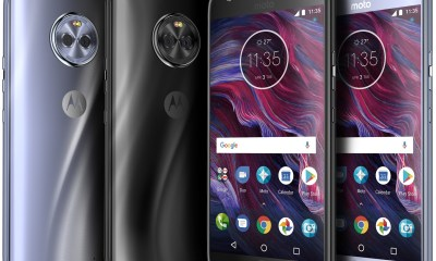 Moto X4 Press Renders