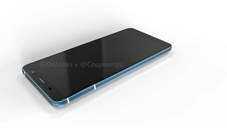 HTC U11 Plus renders