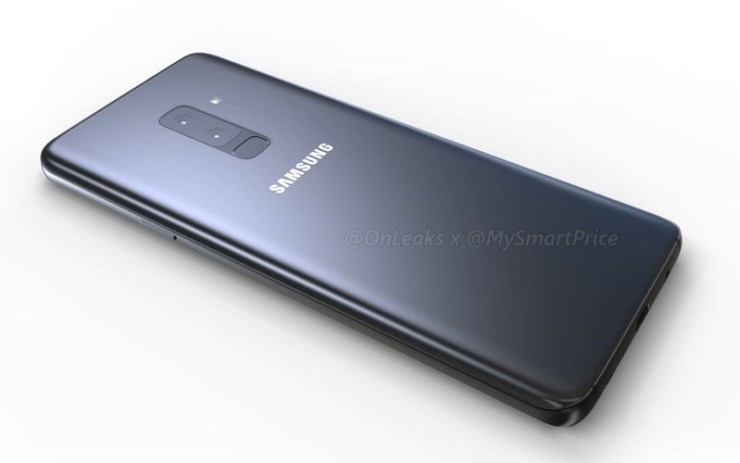 Here are the first 'LEGIT' renders of the Samsung Galaxy S9 & S9+ 2