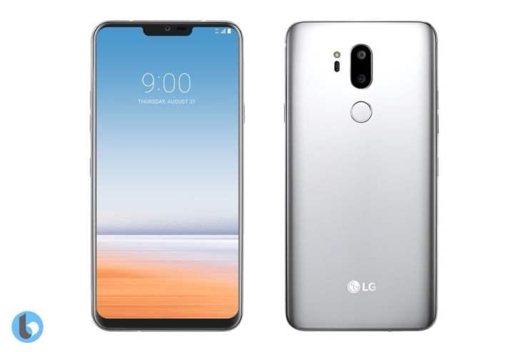 LG G7 Render based on MWC Leak