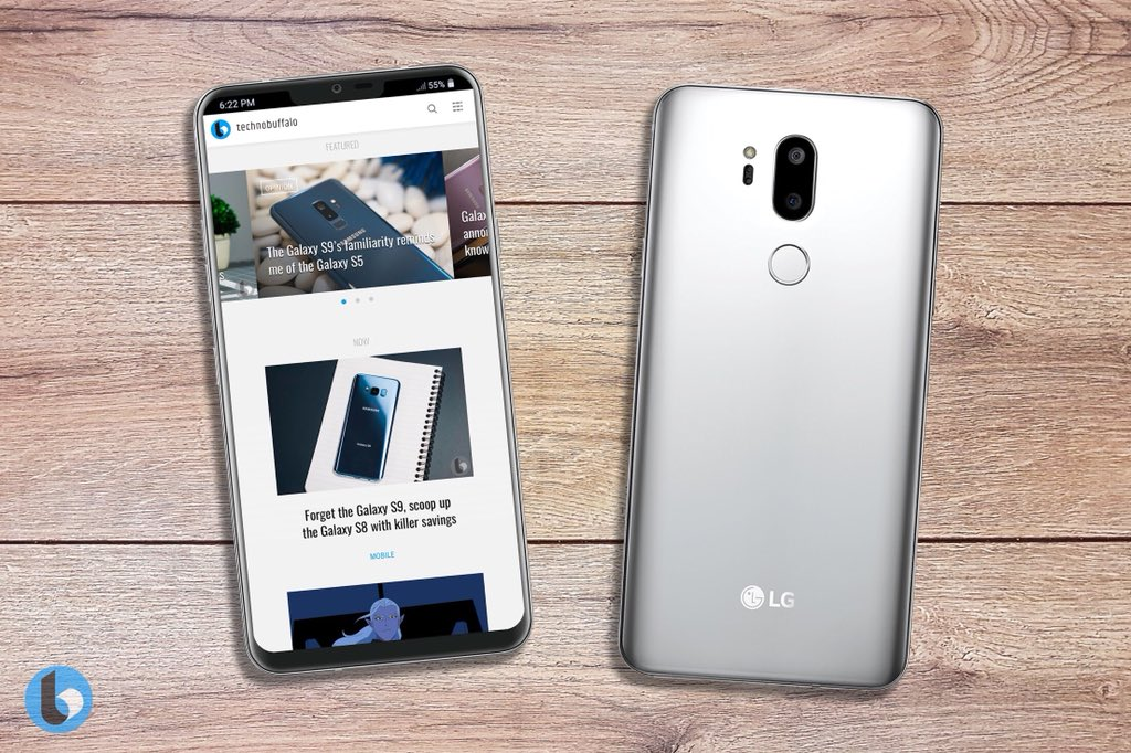 LG G7 Render based on MWC Leak