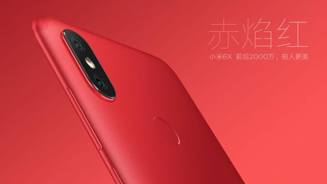 Xiaomi Mi 6X - Crimson