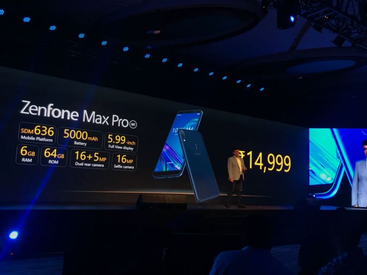 Asus Zenfone Max Pro M1 launched in India with Snapdragon 636 4