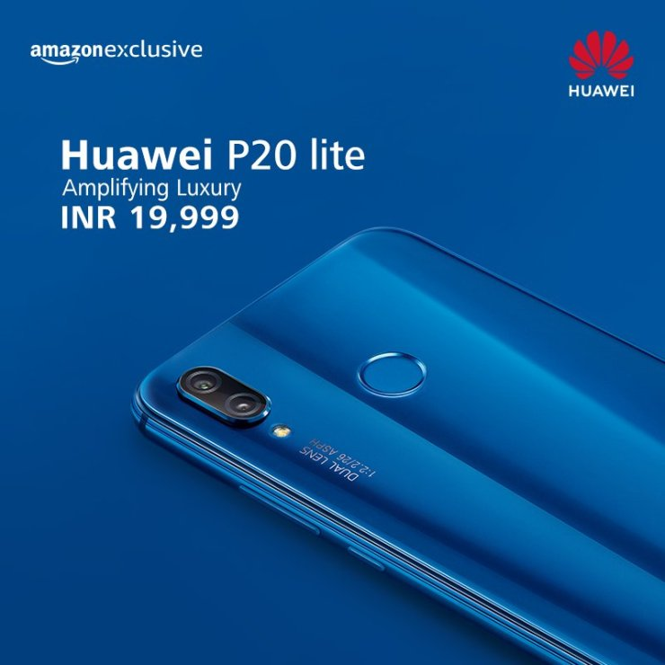 Huawei P20 Pro & P20 Lite launched in India as Amazon Exclusive phones 5