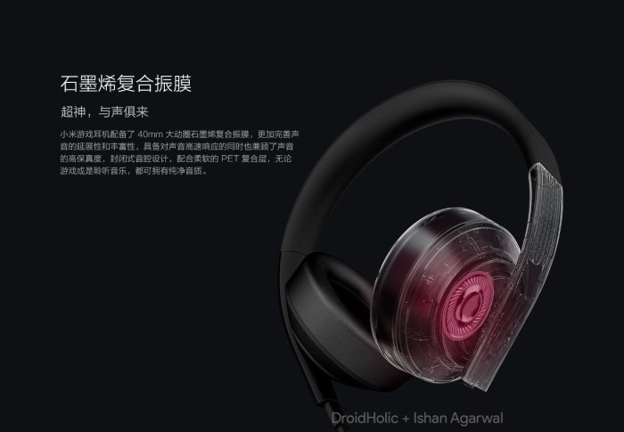 Xiaomi Gaming headset will go on sale on April 27 for ¥349 ($55) 6