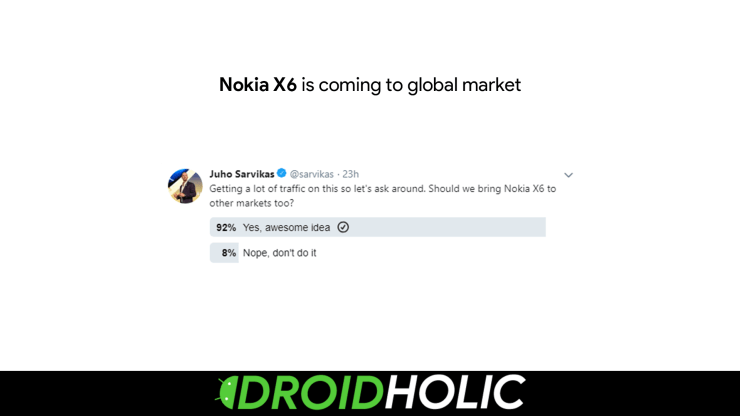 Nokia X6 Global Launch Soon?
