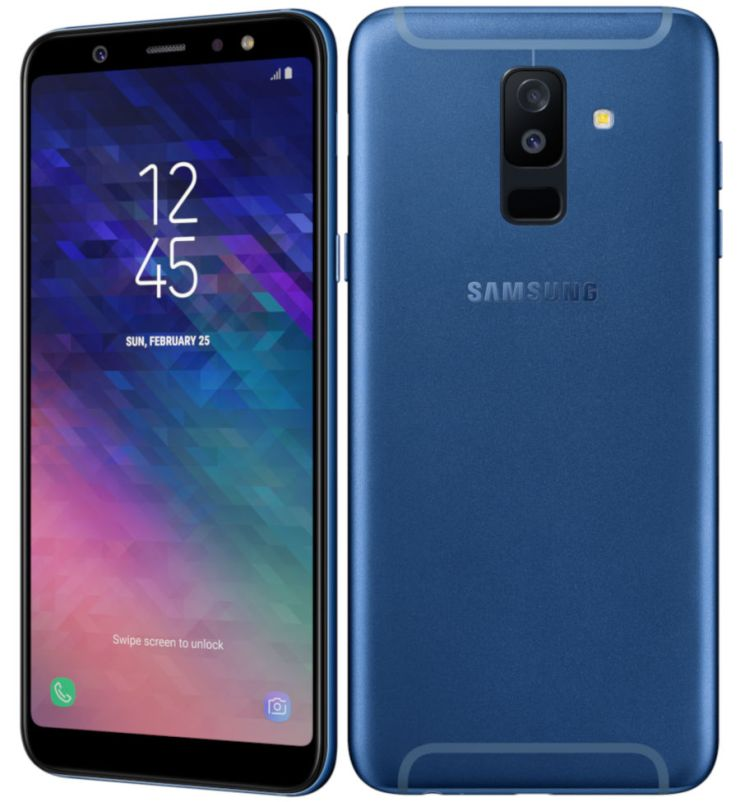 This is the Samsung Galaxy A6+
