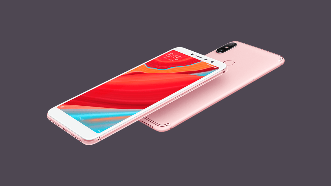 Xiaomi Redmi S2 in Rose Gold