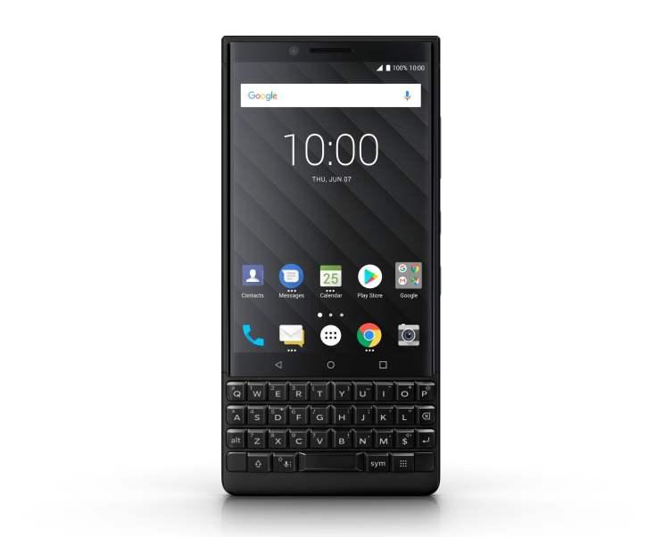 Blackberry Key2 in Black 1