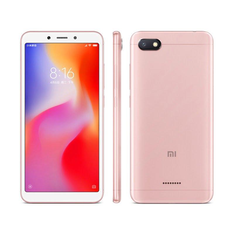 Xiaomi Redmi 6A in Rose Gold