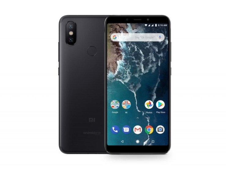 This is the Xiaomi Mi A2