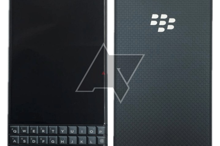 Blackberry Key2 LE Press Render