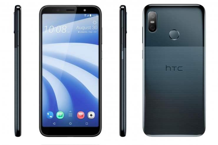 HTC U12 Life in Moonlight Blue