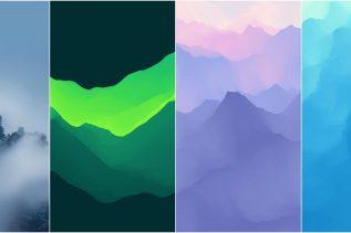 Meizu 16 Stock Wallpapers