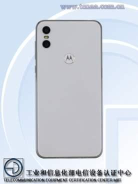Motorola One TENAA 2