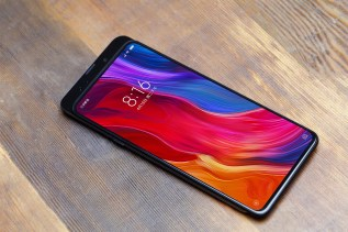 This is the Xiaomi Mi Mix 3