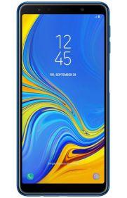 Galaxy A7 2018 render Blue 1