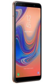 Galaxy A7 2018 render Gold 2