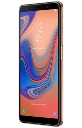 Galaxy A7 2018 render Gold 4