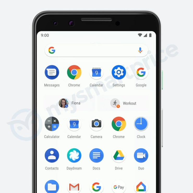 Another set of Google Pixel 3 (not XL) renders leaked 5