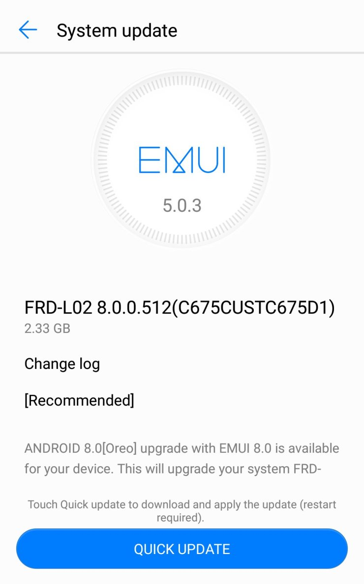 Honor 8 Is Now Getting Android 8 0 Oreo Based EMUI 8 0
