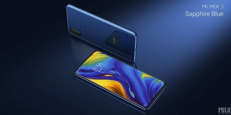 Xiaomi Mi Mix 3 launched with bezel-less design & up to 10GB RAM 1