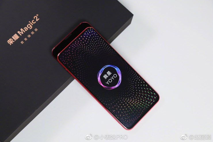 Honor Magic 2 now shows up in a couple of live images 3