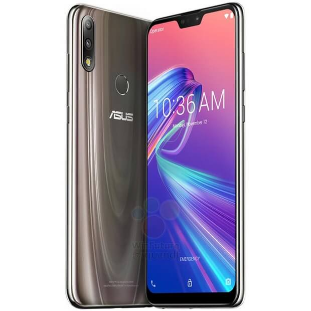 Asus Zenfone Max Pro M2 press renders leaked in Gold and Blue 7