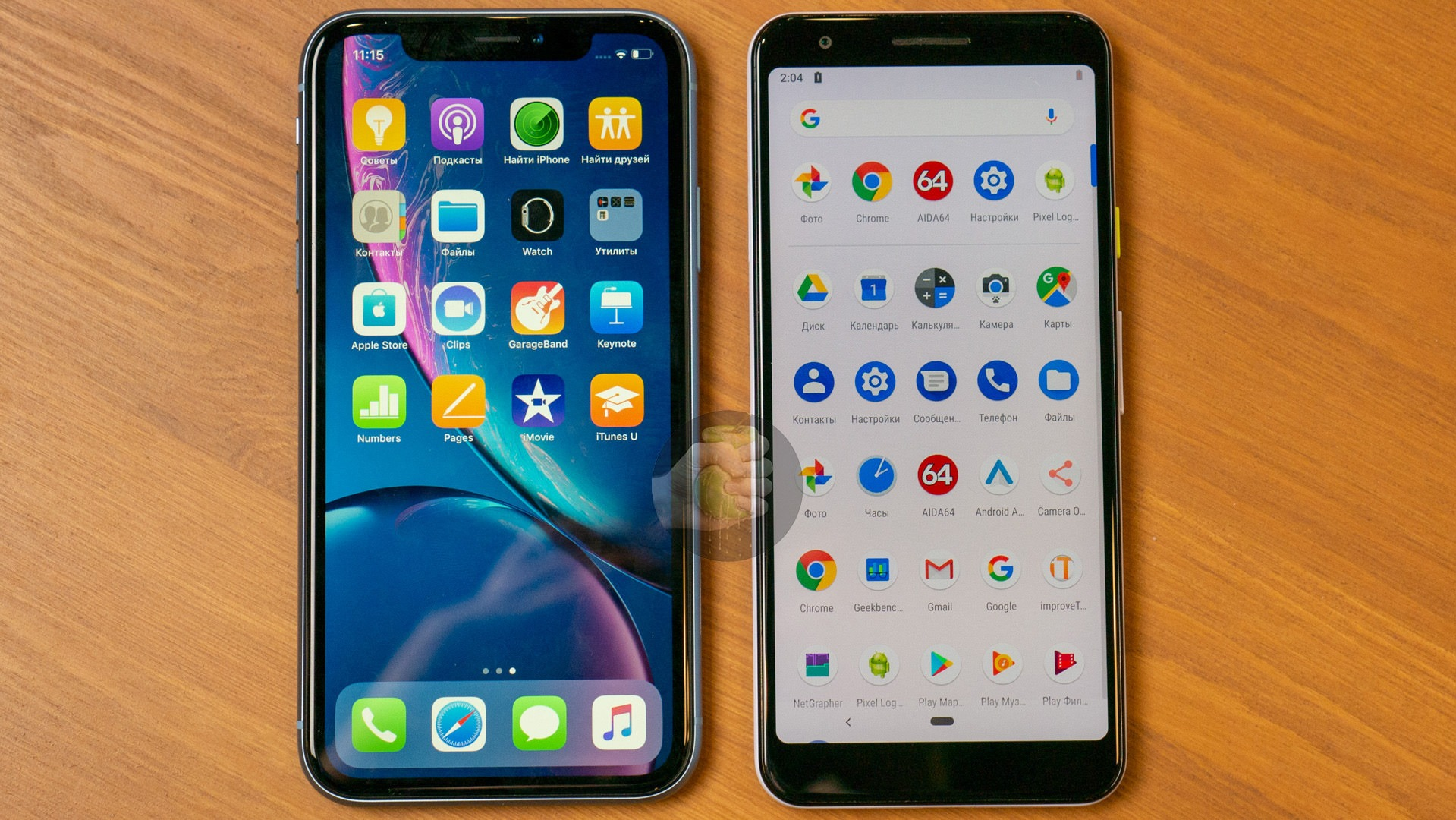 Here's how Google Pixel 3 Lite compares to other phones in terms of size 8